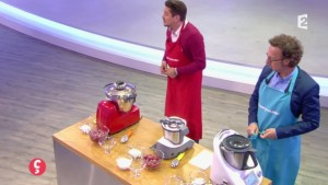 Stephane Berne test le magimix sur france 2
